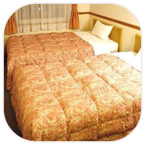 豪奢な雰囲気のベッド
