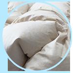羽毛布団の特徴と比較