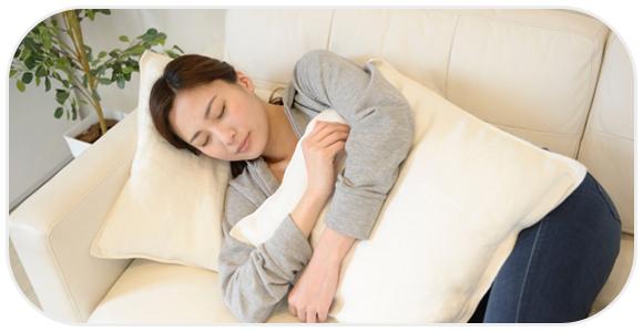 食後の寝る向きに注意するのは何故?
