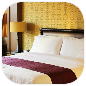 ホテルのような一室