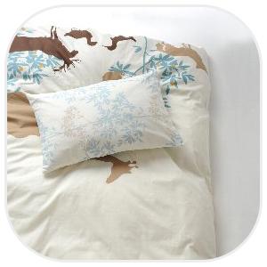 ふかふかのベッドと枕