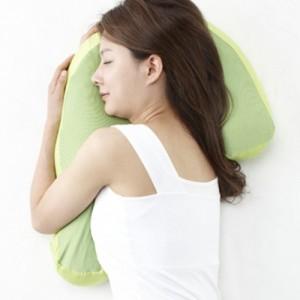 安眠のための横向き寝用枕 スリープバンテージ