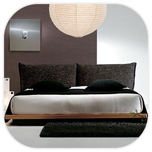 ロータイプのベッドフレーム
