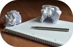 イライラを紙に書きだそう