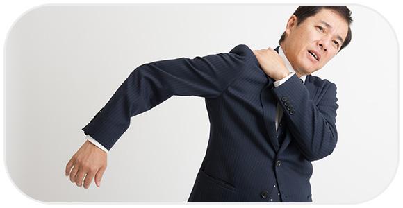 ストレスで違和感を感じる男性