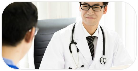 相談する患者とドクター